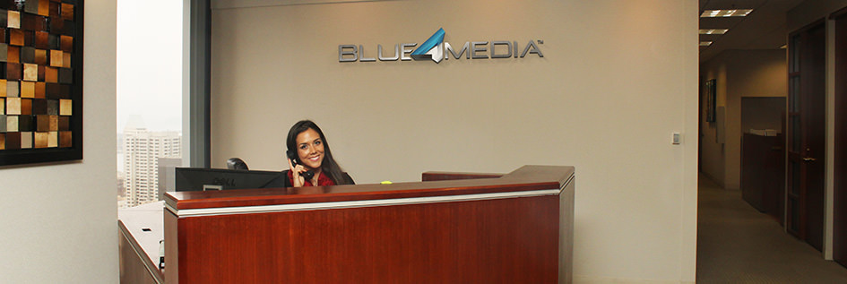 Blue 4 Media Office